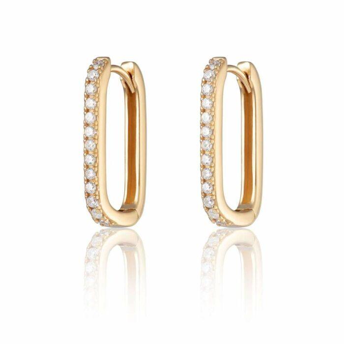 Armed & Gorgeous Gold Huggie Earrings