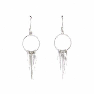 Dangle hoop earrings - Armed & Gorgeous
