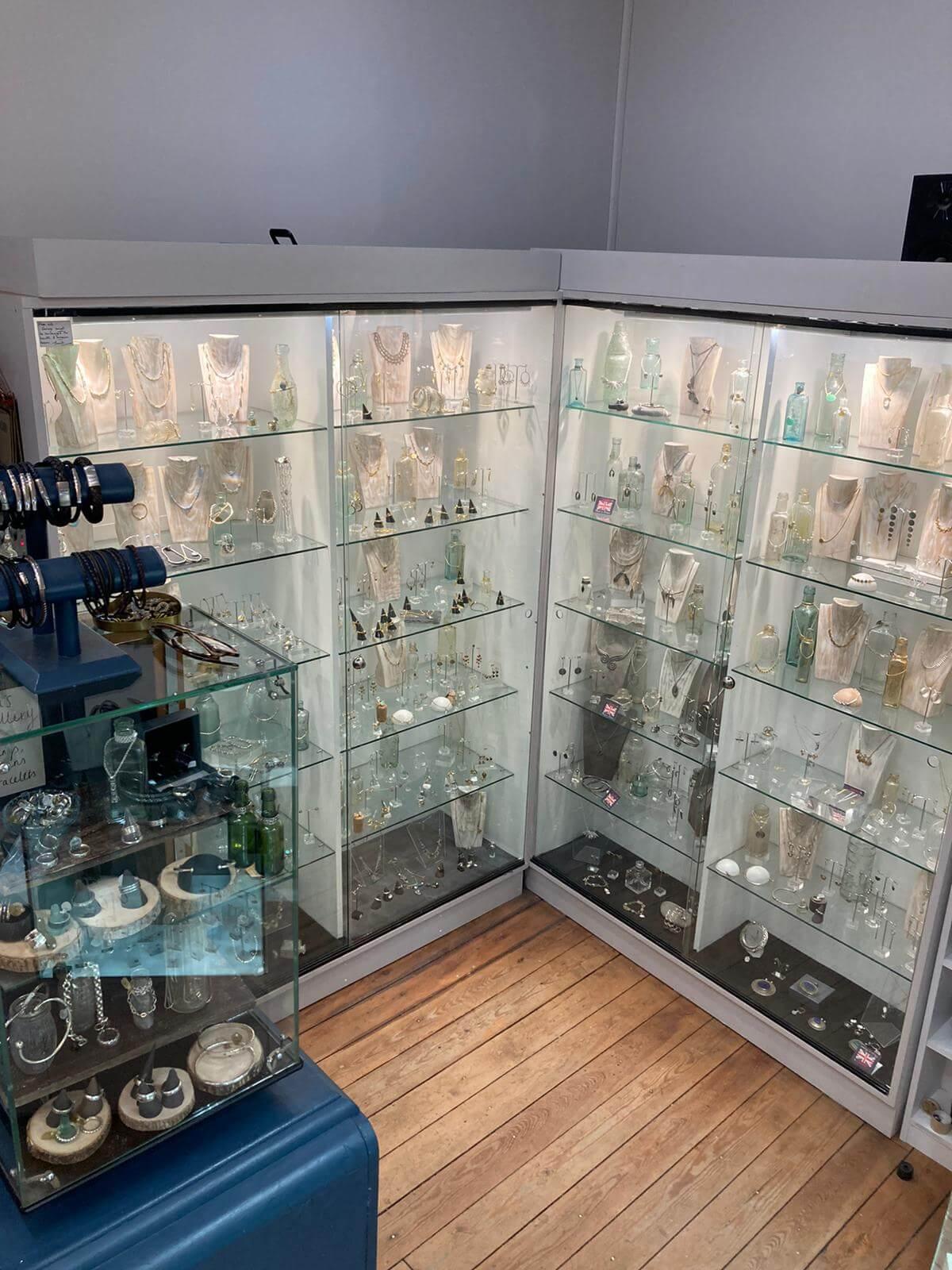 Our British made jewellery corner, Nailsworth shop