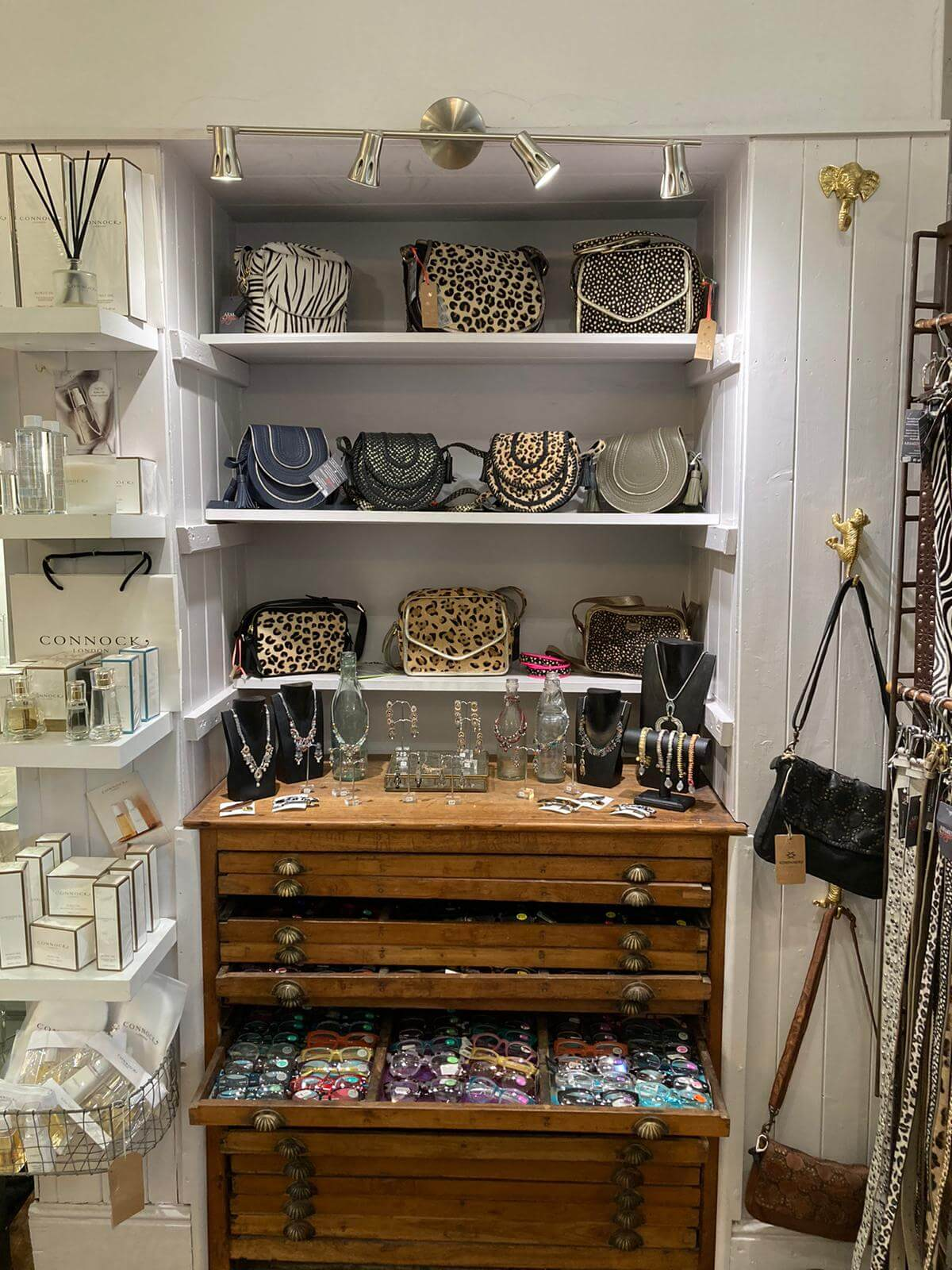 Handbags, belts, Stroud and Nilsworth shops