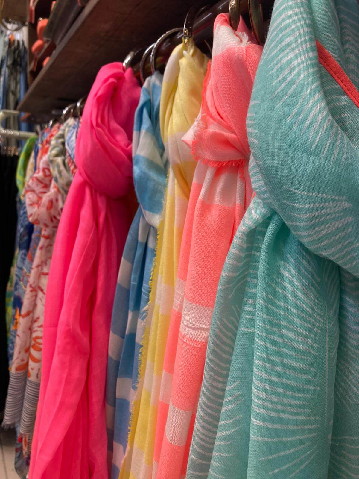 Colourful scarves nailsworth A&G