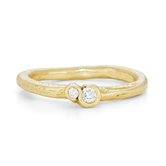 Frost White Laminaria Ring- Armed & Gorgeous