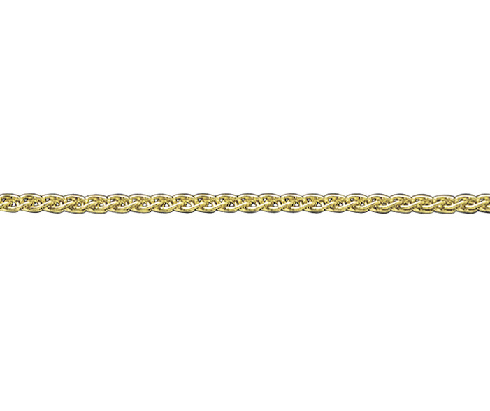 9ct Gold Medium Spiga Chain- Armed & Gorgeous