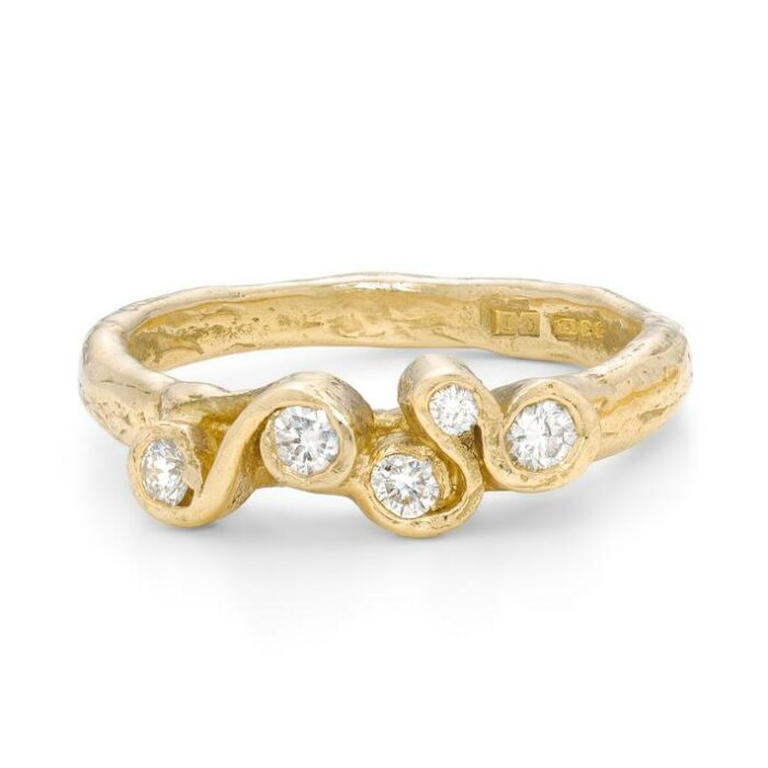 Crest White Corallina Ring- Armed & Gorgeous