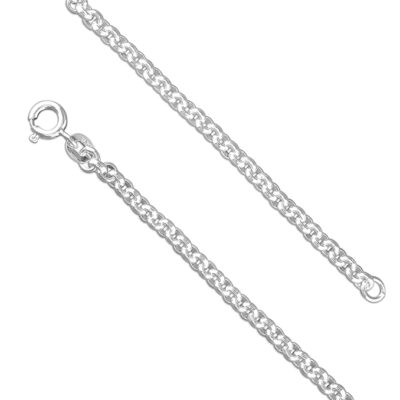 Sterling Silver Medium Belcher Chain-Armed & Gorgeous