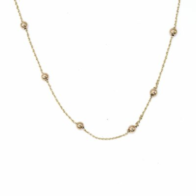 9ct Ball Necklace- Armed & Gorgeous