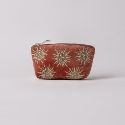elizabeth scarlett sun goddess coin purse