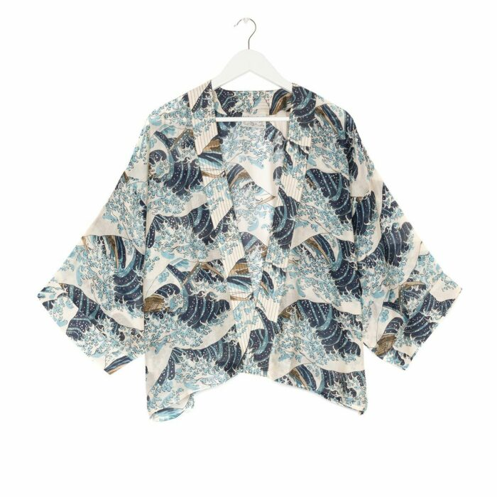 One Hundred Stars- Wave Kimono- Armed & Gorgeous
